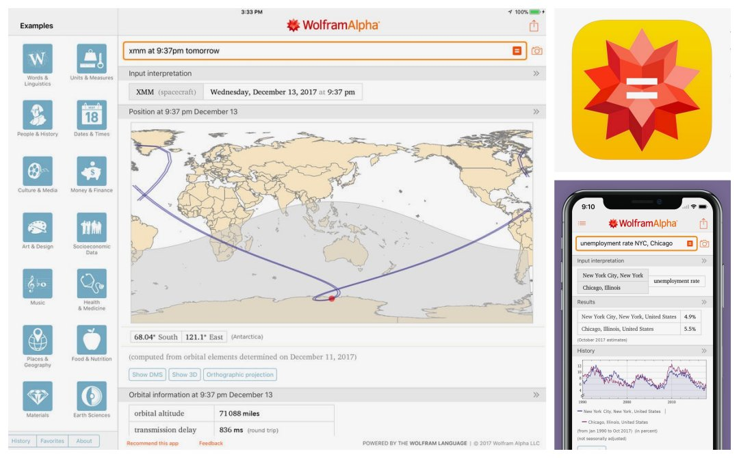 WolframAlpha - top learning apps for iPad and iPhone