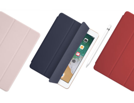 iPad 9.7 (2018) comes with original and third-party accessories available in Apple online store