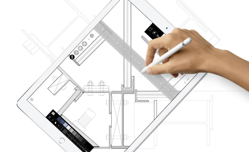 iPad 9.7 (2018) is Apple Pencil ready giving you more ways to be productive and creative
