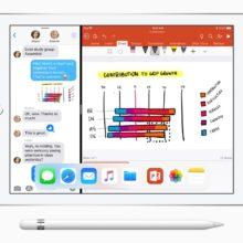 iPad 9.7 (2018) supports split screen