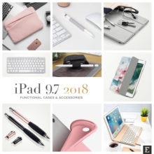 Best cases and accessories for iPad 2018 9.7 with Apple Pencil support