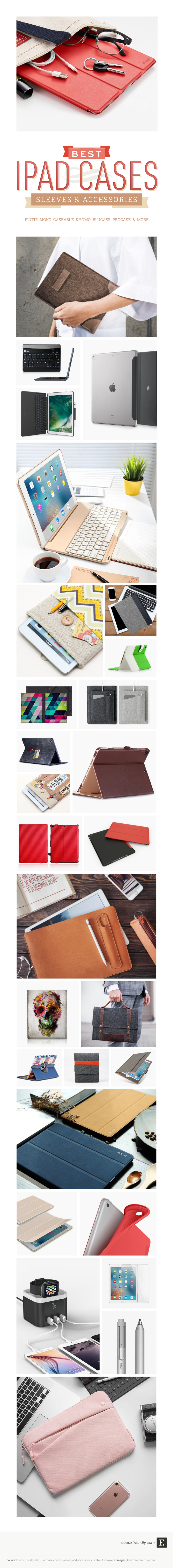 Best iPad cases and accessories to buy in 2018 (infographic0 - iPad 9.7, iPad Pro, and older models