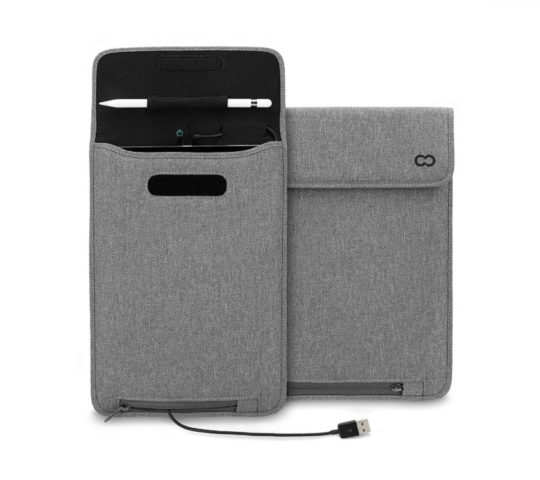 CaseCrown iPad 9.7 Power Sleeve with Apple Pencil Holder