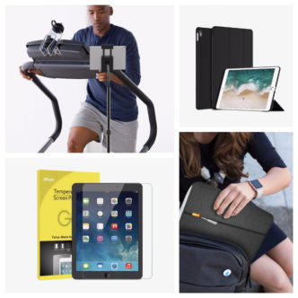 Good deal on iPad case covers, screen protectors and stands from JETech - save up to 40%