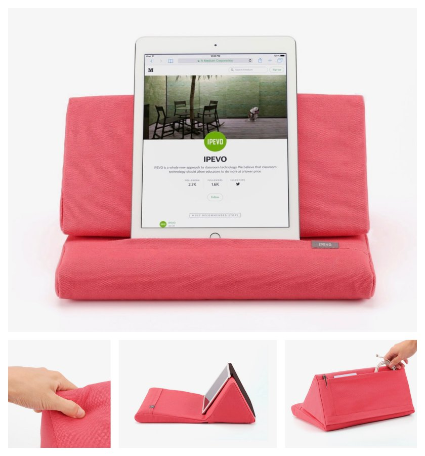 Ipevo Pillow Stand for Apple iPad and other tablets