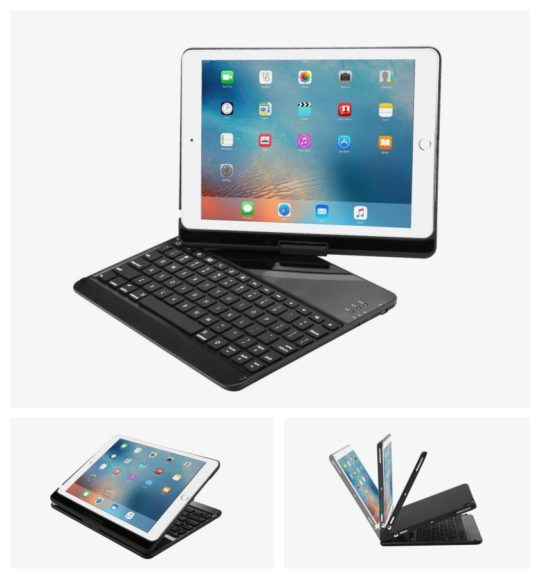ProCase iPad. 9.7 2018 Convertible 360 Degree Keyboard Case