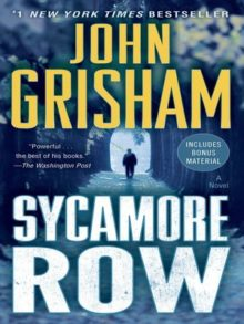 Sycamore Row - John Grisham - all-time library bestsellers - ebooks and audiobooks