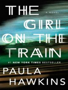The Girl on the Train - Paula Hawkins - top 10 library checkouts of all time - ebooks and audiobooks