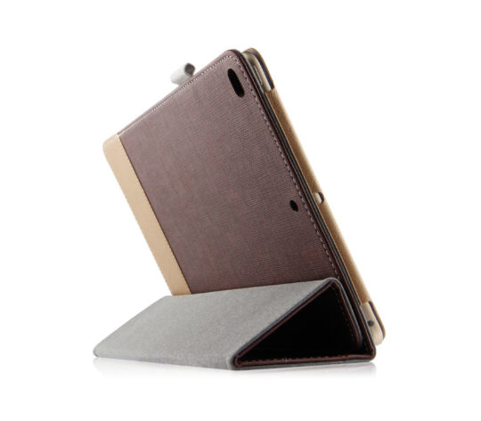 ToGeeKa iPad 2018 Lightweight Canvas Stand Case