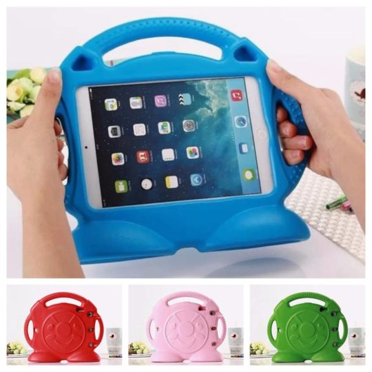 Best iPad case covers for children - Lioeo Shockproof and dustproof stand case