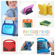 15 best heavy-duty iPad case covers for kids of all ages