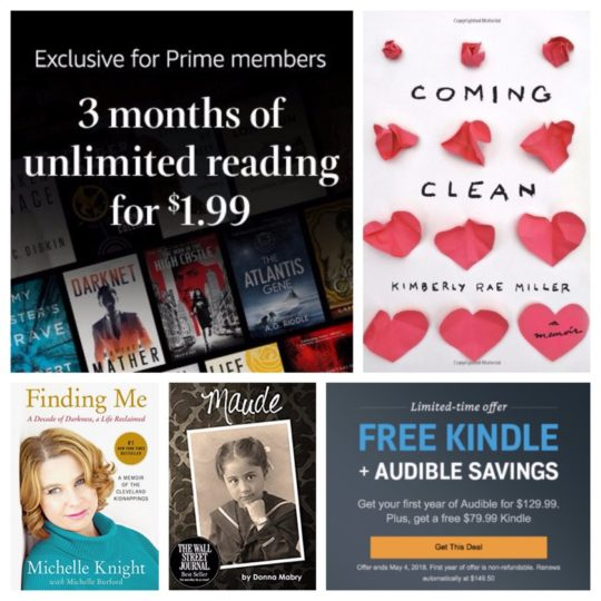 Mother's Day 2018 deals on Kindle ebooks, service, and subscriptions - plus Audible deals