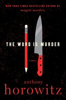 The Word Is Murder - Anthony Horowitz - best ebooks to read during summer 2018