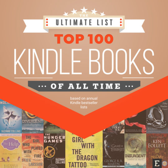 The Top 100 Kindle Books Of All Time Based On Annual