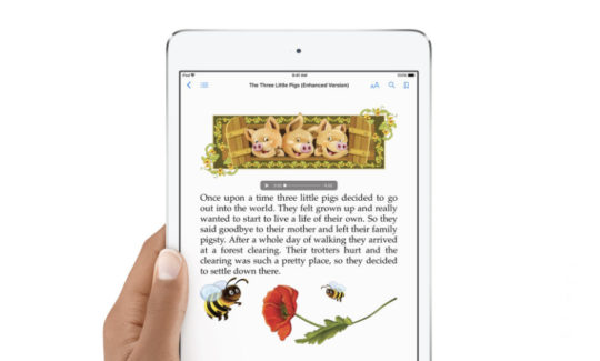 iPad or Kindle for reading - choose an iPad if you want to read with kids