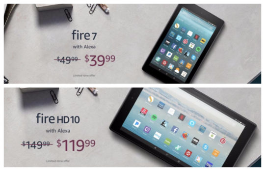 Amazon Fire deals for Father's Day 2018