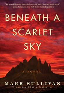 Amazon Kindle bestsellers of 2018 so far - Beneath a Scarlet Sky by Mark Sullivan