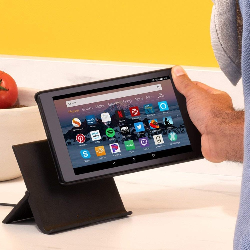 Amazon Show Mode Charging Dock for Fire HD 8 and Fire HD 10 will be launched on July 12, 2018