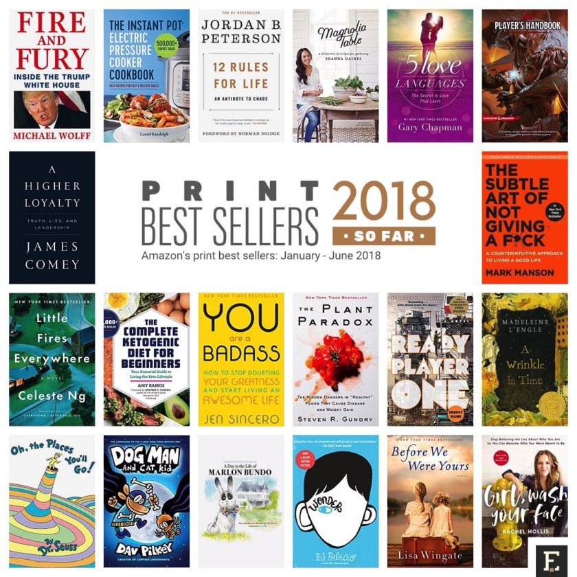 amazon s best selling print and kindle books of 2018 so far