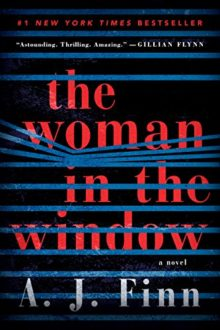 Best Amazon books of 2018 so far - Mystery and Thrillers - The Woman in the Window by A.J. Finn