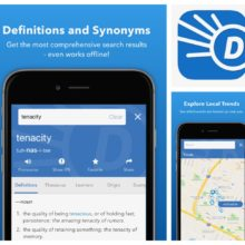 Dictionary app for iPad and iPhone is all you need to learn English