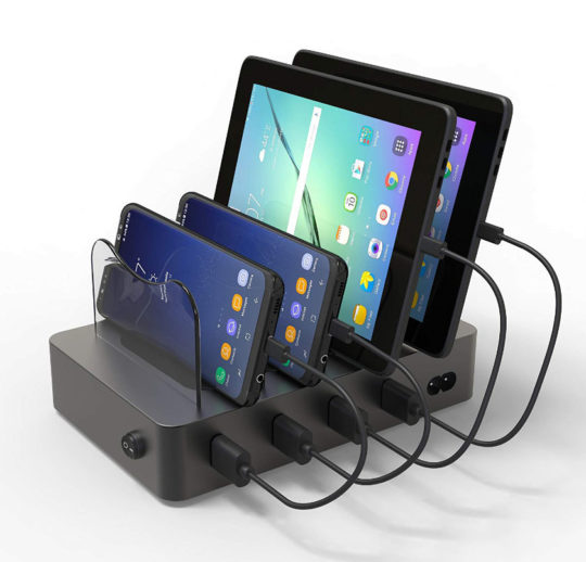 Hercules Tuff ThunderBoost USB Charging Dock for Multiple Tablets and Smartphones