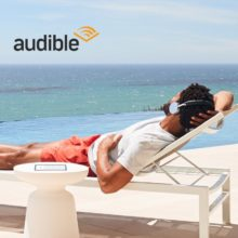 How many audiobooks can fit into a Kindle e-reader?