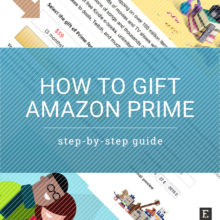How to gift Amazon Prime membership