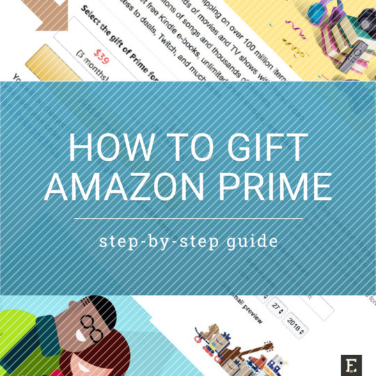 How to gift Amazon Prime subscription
