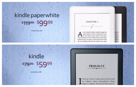 Kindle deals for Father's Day 2018