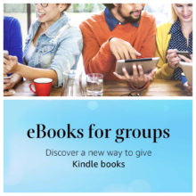 Now you can give a Kindle book to a group of recipients