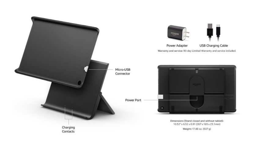 Show Mode Charging Dock - product specifications