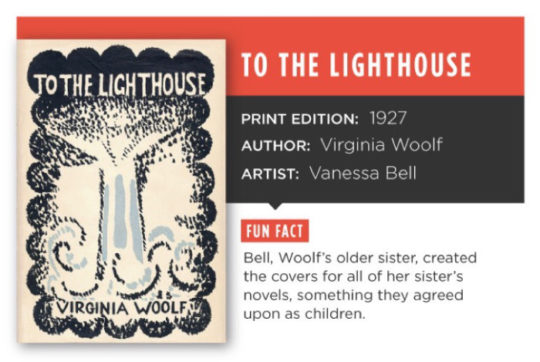 The story behind the cover for To the LIghthouse
