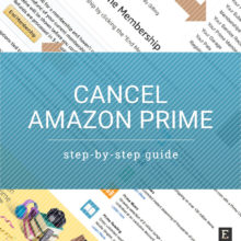 Cancel Amazon Prime and get a refund