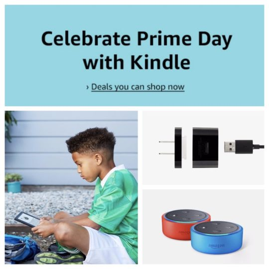 Celebrate Prime Day 2018 with Kindle - deals available for all Amazon customers