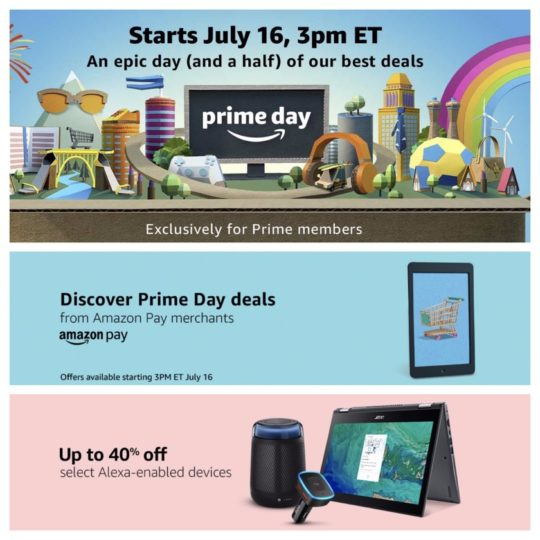 Details of Amazon Prime Day 2018 are revealed