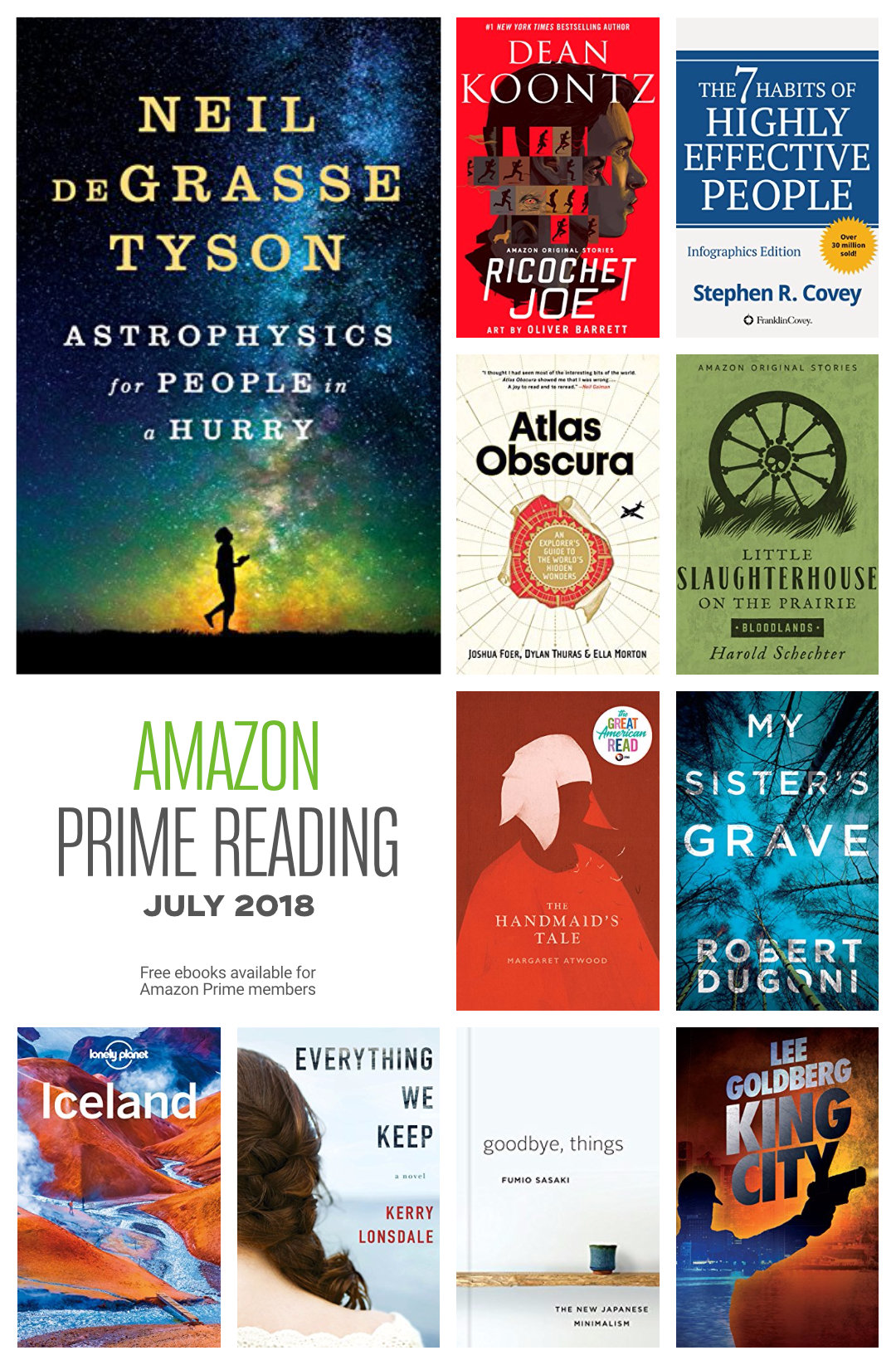 Explore the best books available in Amazon Prime Reading in July 2018