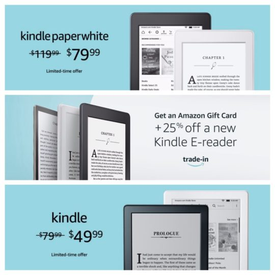 Amazon Prime Day 2018 - best deals on Kindle e-readers
