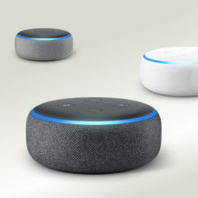 3rd-generation Amazon Echo Dot smart speaker