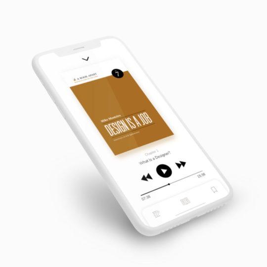 A perfect audiobook app - features