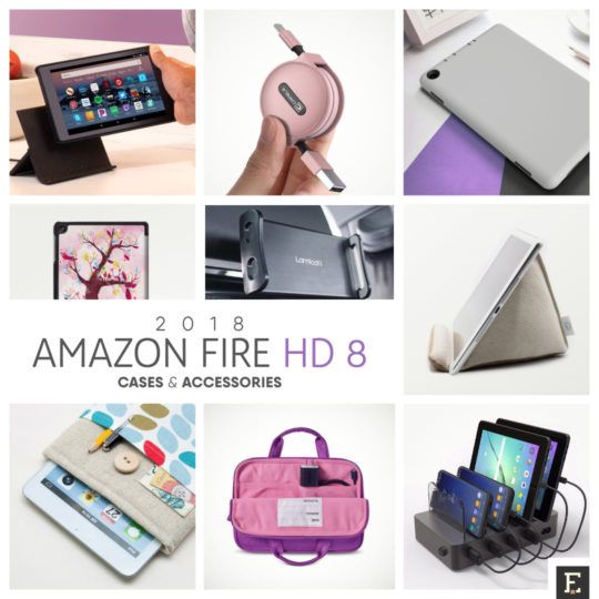 16 must-have cases and accessories for your Amazon Fire HD 8 (2018) tablet