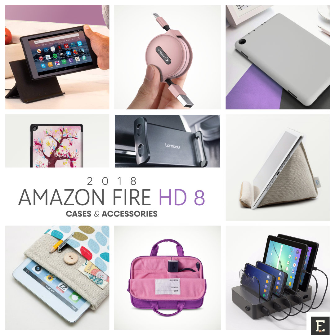 6fc459514c335 16 must-have cases and accessories for your Amazon Fire HD 8 (2018 ...