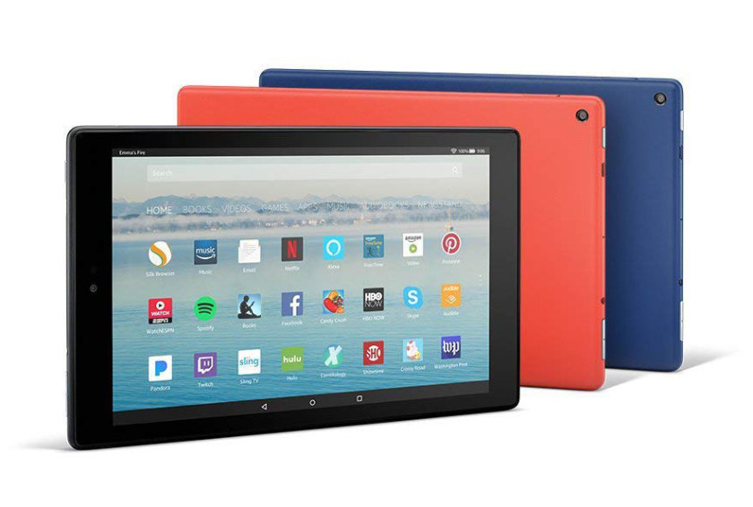 Amazon Fire is using Fire OS system which is based on Android - but it has little to do with the original system