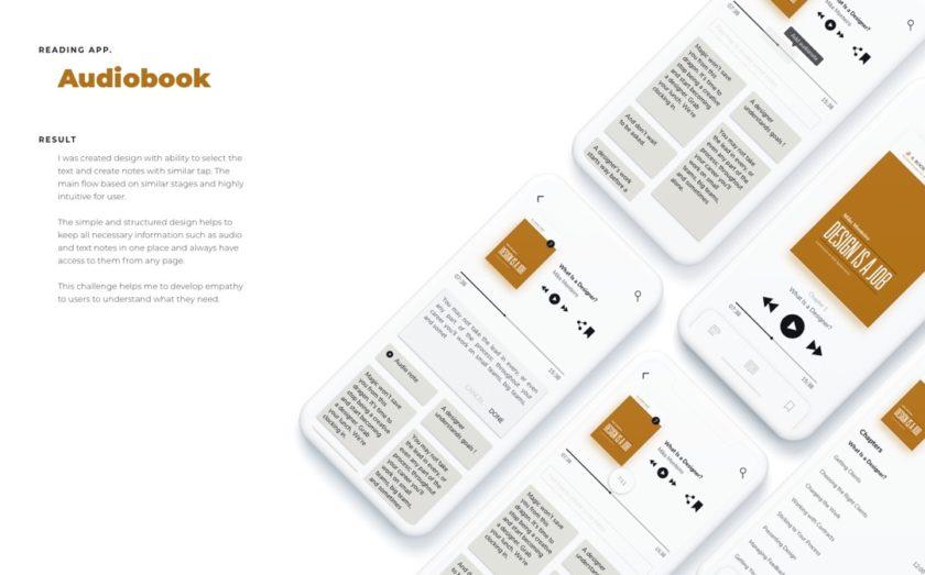 Audiobook app concept by Anna Yarovenko - image 2