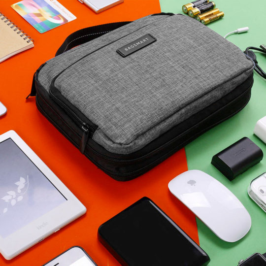 Bagsmart Clever Travel Electronics Organizer for iPad Pro 2018