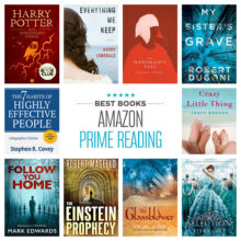 Best Kindle books on Amazon Prime Reading, based on reviews
