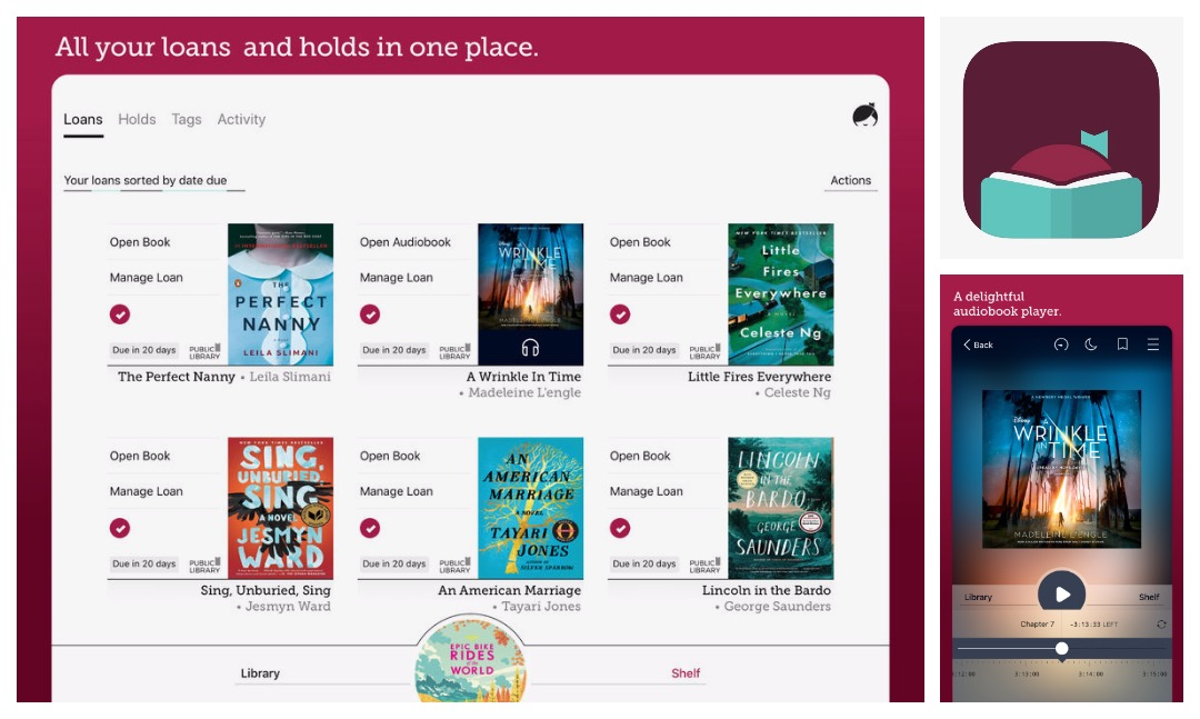 Best iOS audiobook apps - Libby for iPad and iPhone is a single iOS app that supports ebooks and audiobooks from multiple libraries