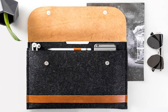 City Sheep iPad Pro 12.9 Felt Sleeve