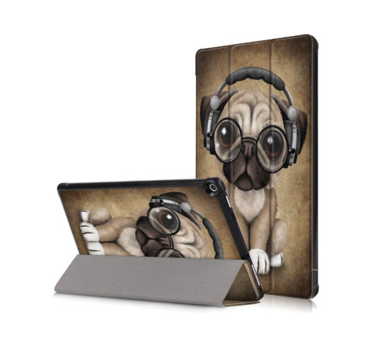 Cute Dog Slim Lightweight Case for 8th-generation Amazon Fire HD 8