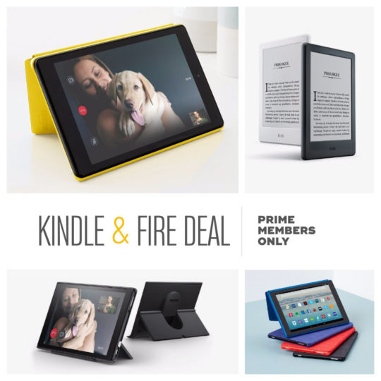 Kindle and Fire sale for Amazon Prime members September 2018